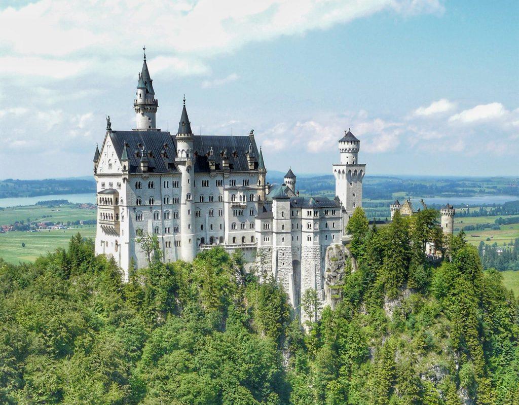 palacios europeos medievales