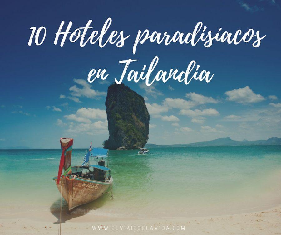 Hoteles playa Tailandia