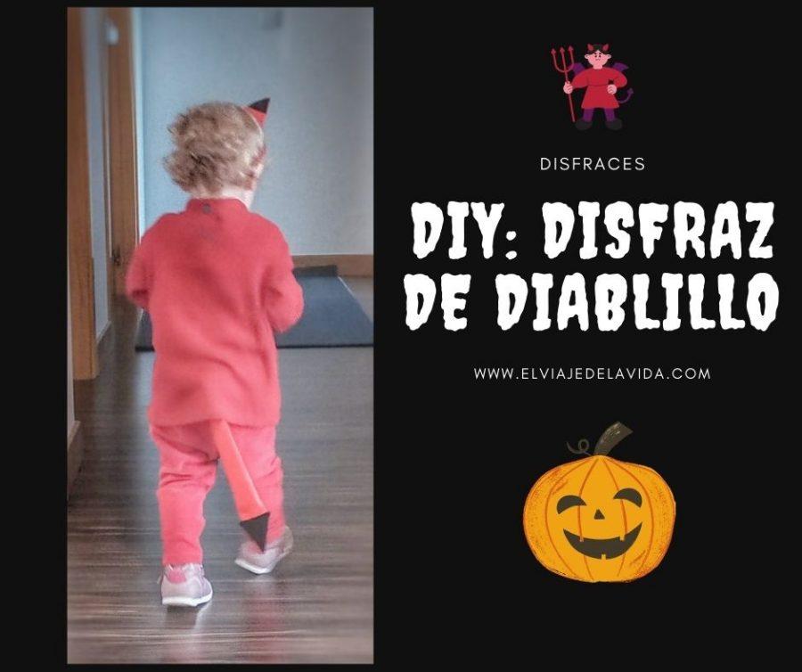 DIY: disfraz de diablillo para halloween
