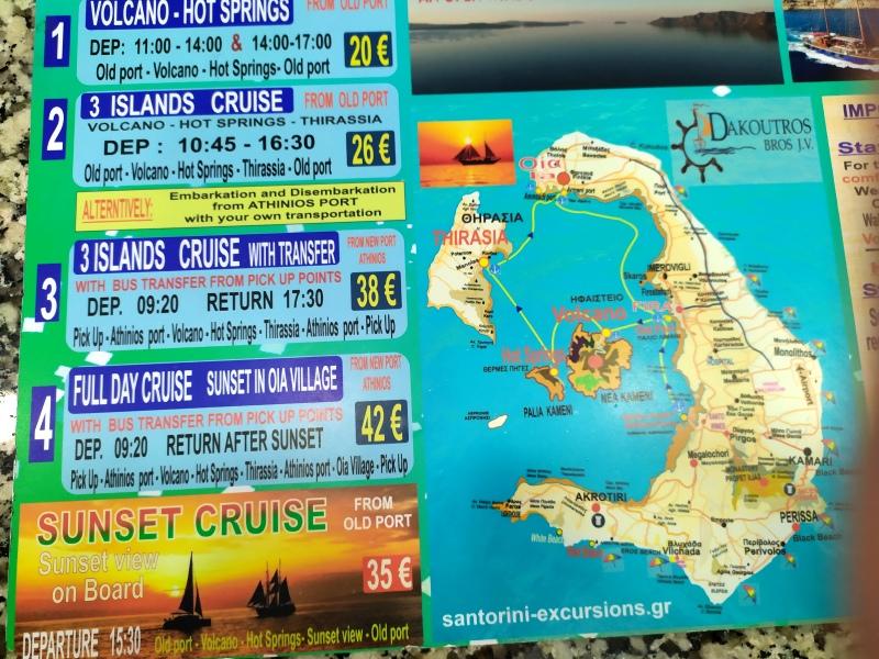 excursiones para hacer con niños en Santorini