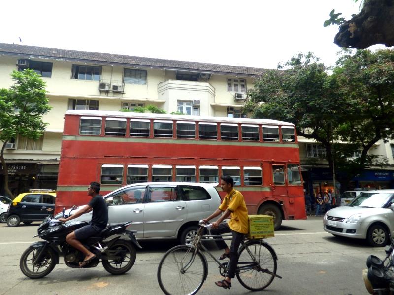 autobuses rojos bombay