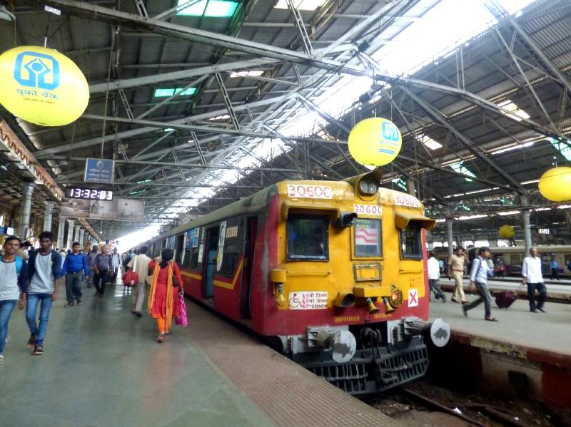 Estacion de tren de mumbai