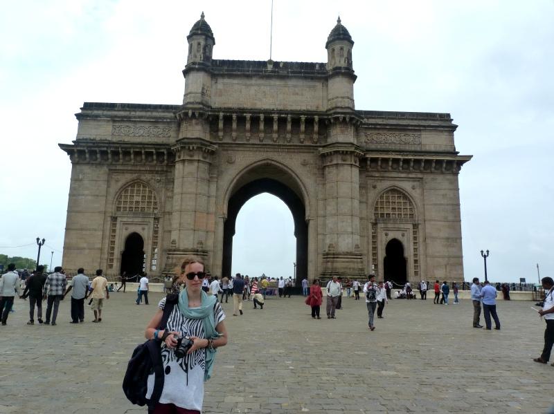 puerta de la india en bombay