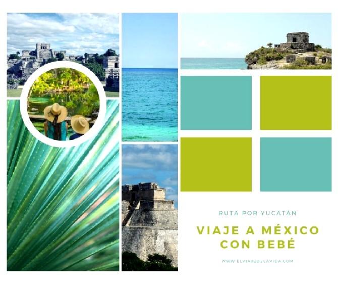 viajar a méxico o riviera maya con niños